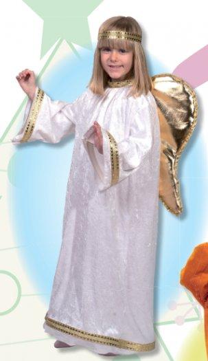 Disfraz de Angelito, talla 7-9 años