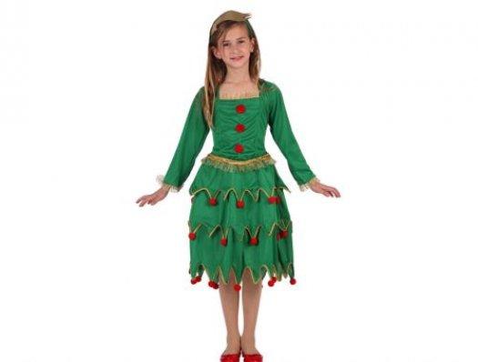 Disfraz de arbol de navidad Talla 4 (10 – 12 años)
