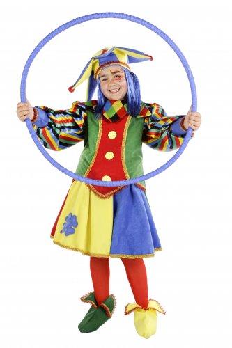Disfraz de Arlequin niña talla 5 - 7 años, talla 2