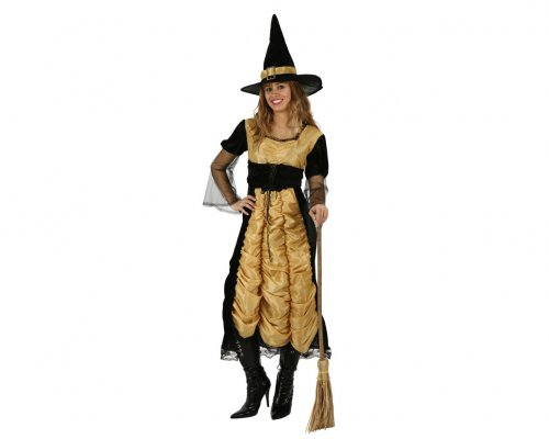 Disfraz de Bruja Lujo mujer