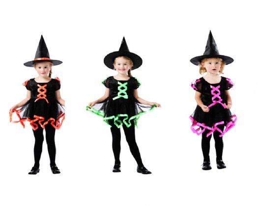 Disfraz de Bruja Verde infantil 4-6 años