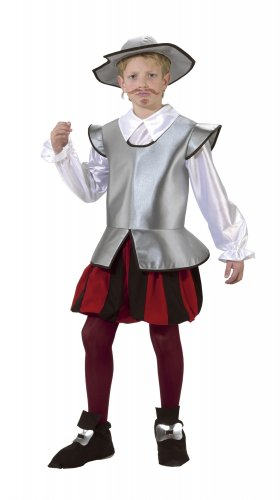 Disfraz de Caballero Infantil talla 3 - 5 años, talla 1