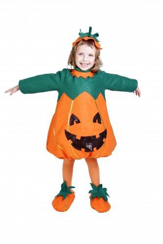 Disfraz de Calabaza infantil talla 5 - 7 años, talla 2
