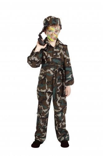 Disfraz de Camuflaje Infantil 3 a 5 años, talla 1