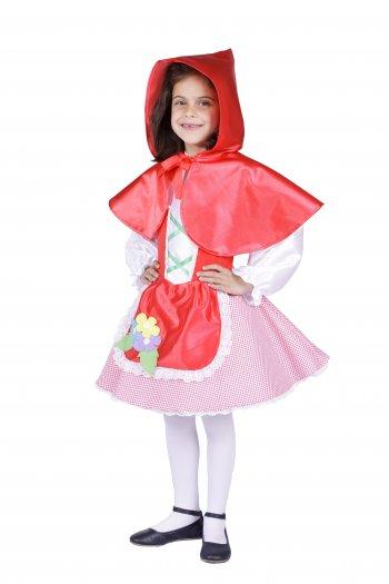 Disfraz de Caperucita infantil 7 a 9 años, talla 3