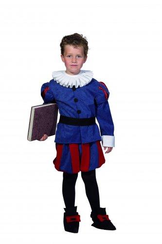 Disfraz de Cervantes Infantil talla 7 - 9 años, talla 3