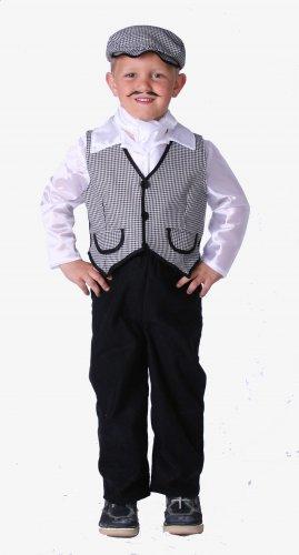 Disfraz de Chulapo infantil talla 9 a 11 años, talla 4