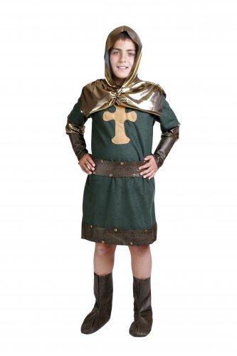 Disfraz de Cid infantil talla 9 a 11 años, talla 4