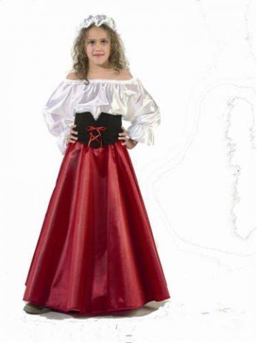 Disfraz de Doncella infantil tallas 3 - 5 años, talla 1