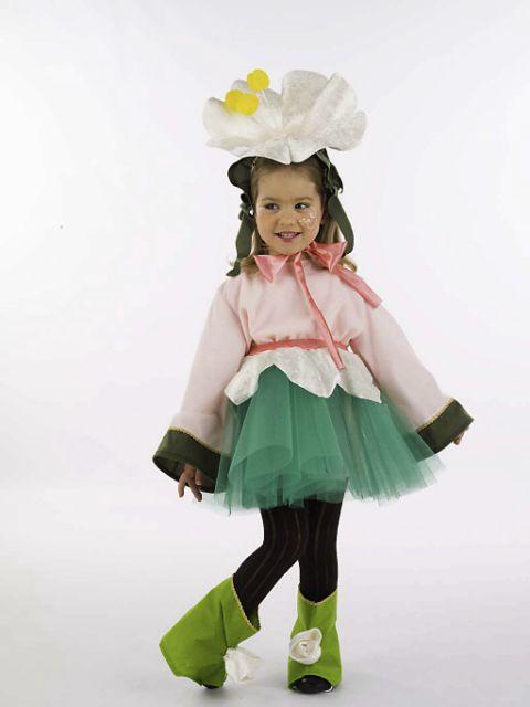 Disfraz de Elfa Flor
