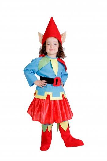 Disfraz de Enanita infantil talla 1 a 3 años