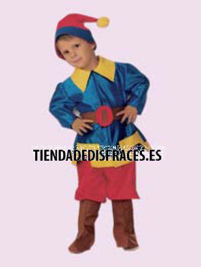 Disfraz de Enanito, talla 3-5 años