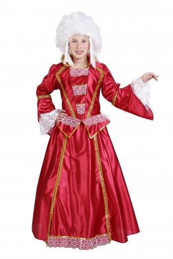 Disfraz de Época infantil para niña Talla 3 a 5 años, talla 1