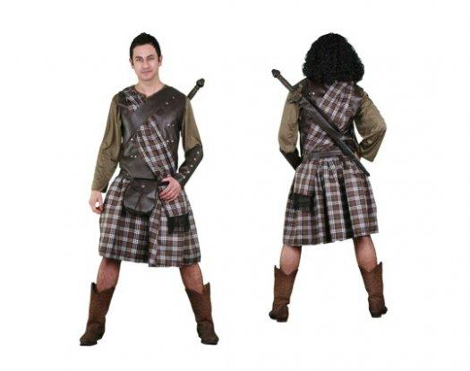 Disfraz de Escocés guerrero