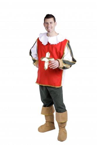Disfraz de Espadachín, adulto.