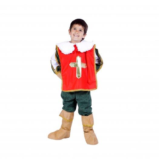 Disfraz de Espadachín especial infantil talla 3 a 5 años, talla 1
