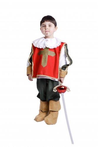 Disfraz de Espadachín especial infantil talla 5 a 7 años, talla 2
