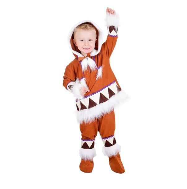 Disfraz de Esquimal niño infantil 7 a 9 años, talla 3