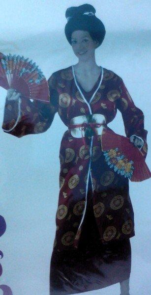 Disfraz de Geisha talla 2 (M-L)