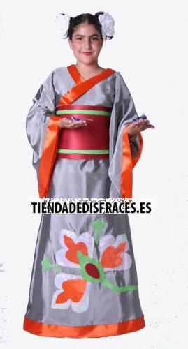 Disfraz de Gheisa infantil 11 a 13 años, talla 5