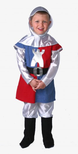 Disfraz de Guerrero infantil talla 7 a 9 años, talla 3