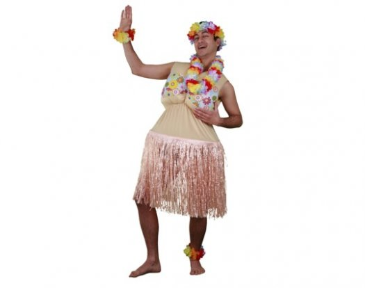 Disfraz de Hawaiana Gordita