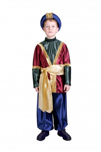 Disfraz de Heraldo infantil 7-9 años, talla 3