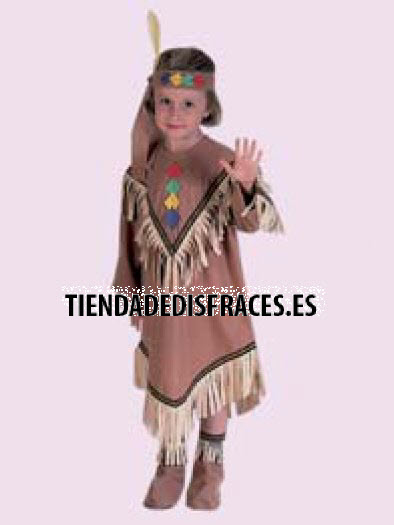 Disfraz de India infantil Edad 5 a 7 años
