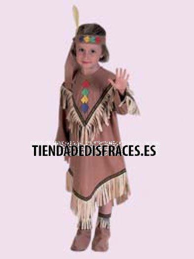 Disfraz de India infantil Edad 3 a 5 años