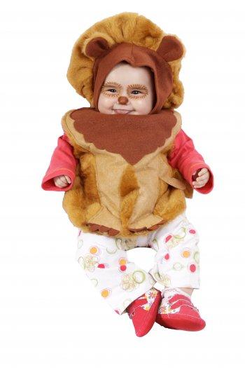 Disfraz de Leon bebé 6 meses