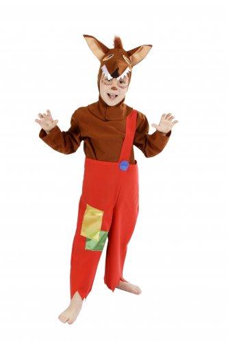 Disfraz de Lobo infantil 7 a 9 años, talla 3