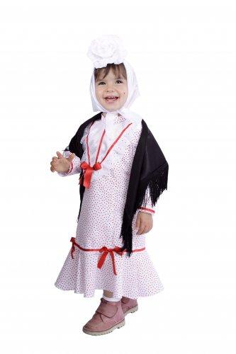 Disfraz de Madrileña infantil talla 18 meses