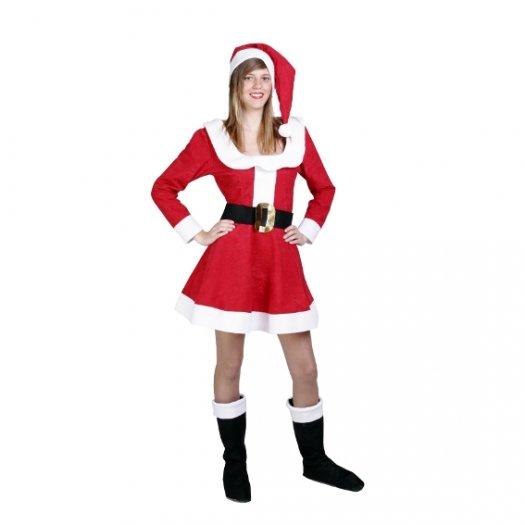 Disfraz de Mama Noel adulta
