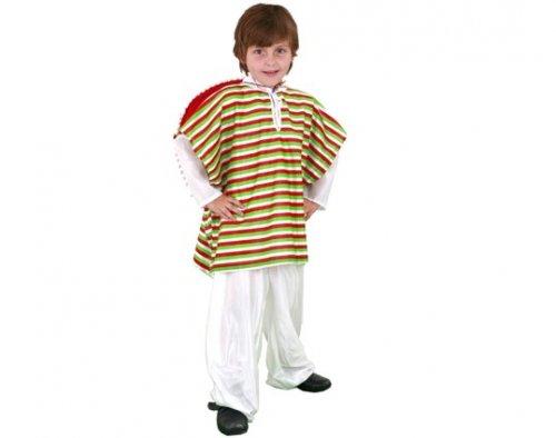 Disfraz de Mejicano infantil 4-6 años