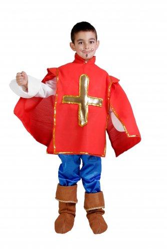 Disfraz de Mosquetero Talla 3 a 5 años, talla 1
