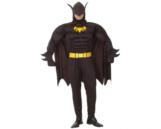 Disfraz de Murciélago Musculoso Adulto Económico