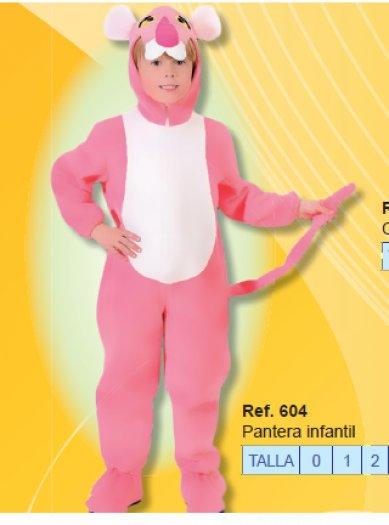 Disfraz de Pantera infantil 1 a 3 años