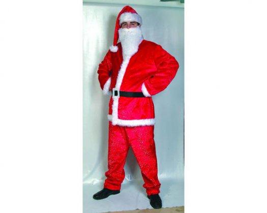 Disfraz de Papa Noel lujo adulto