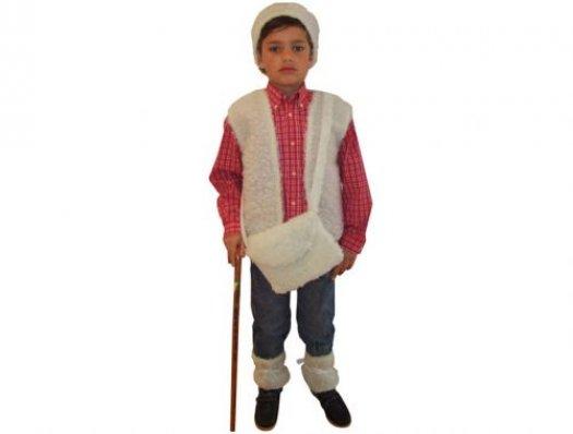 Disfraz de Pastor infantil 7-9 años
