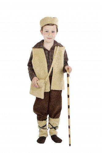 Disfraz de Pastor infantil con pantalón 11-13 años, talla 5