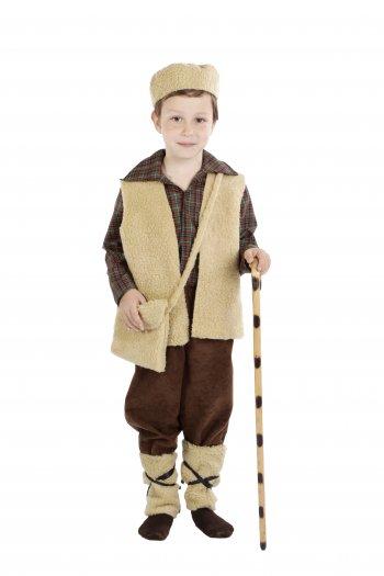 Disfraz de Pastor infantil con pantalón 1-3 años, talla 0