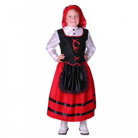 Disfraz de Pastora infantil1-3 años, talla 0