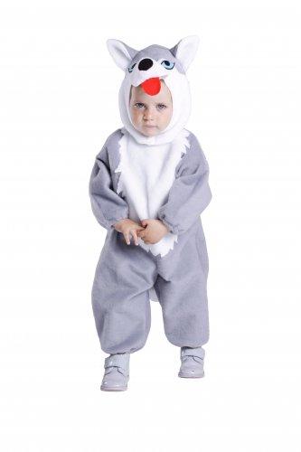 Disfraz de Perro Husky infantil 18 meses