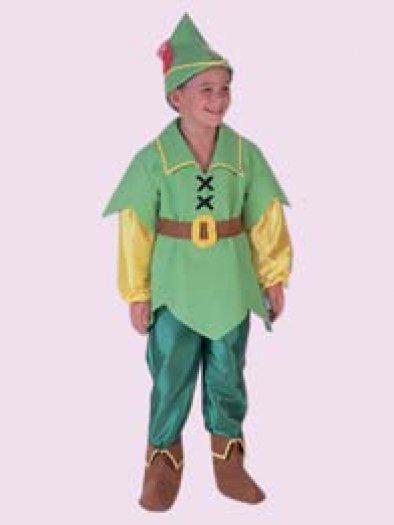 Disfraz de Peter Pan, talla 1-3 años