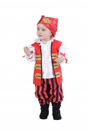 Disfraz de Pirata Niño talla 18 meses
