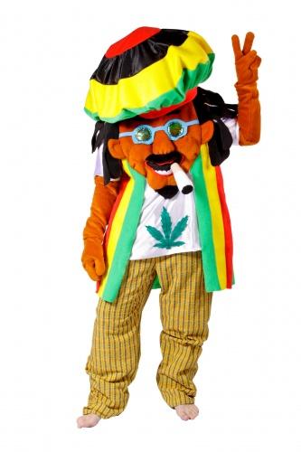 Disfraz de Rastafari adulto