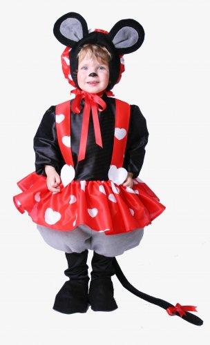 Disfraz de Ratoncita infantil 3 a 5 años, talla 1