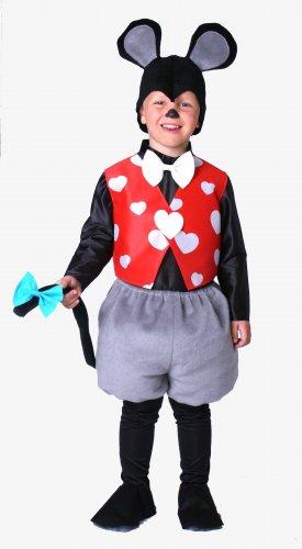 Disfraz de Ratoncito infantil 3 a 5 años, talla 1