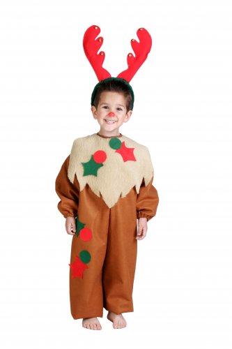 Disfraz de Reno infantil talla 7-9 años, talla 3