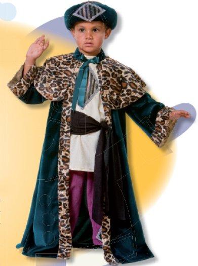 Disfraz de Rey Baltasar infantil talla 5 a 7 años